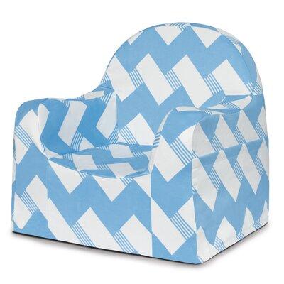 Little Reader Zig Zag Personalized Kids Chair PKFFLR+BZ