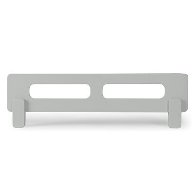 Nesto Bed Side Rail Bed Frame Color: Gray