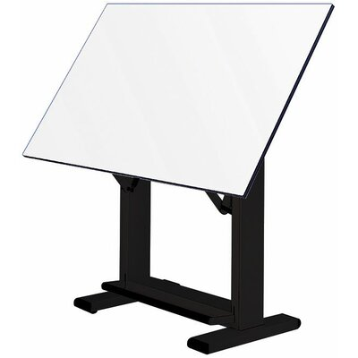 Elite Drafting Table Base Finish: Black