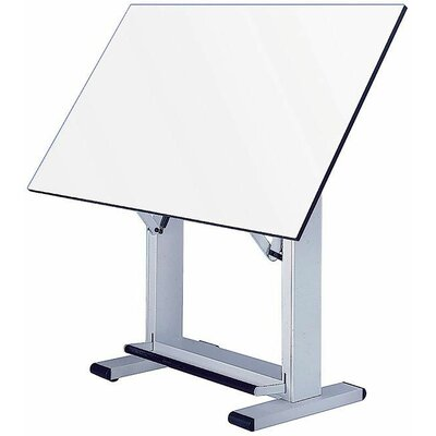 Elite Drafting Table Base Finish: White