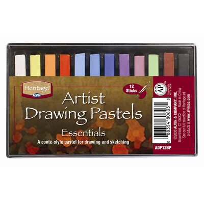 Basic Drawing Pastels ADP12BP