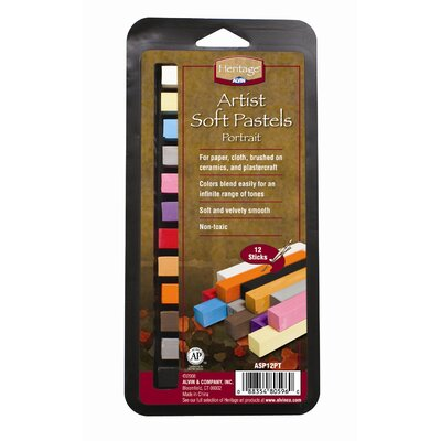 Portrait Soft Pastels Set (Set of 2) ASP12PT