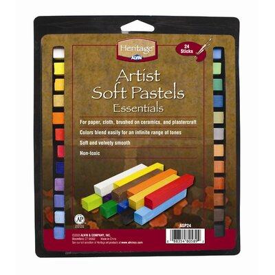 Artist Soft Pastels Set ASP24