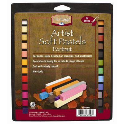 Portrait Soft Pastels Set ASP24PT