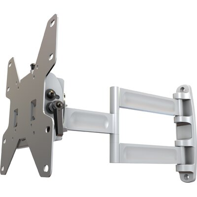 Articulating Arm/Tilt Wall Mount for 13 - 37 Screens Finish: White