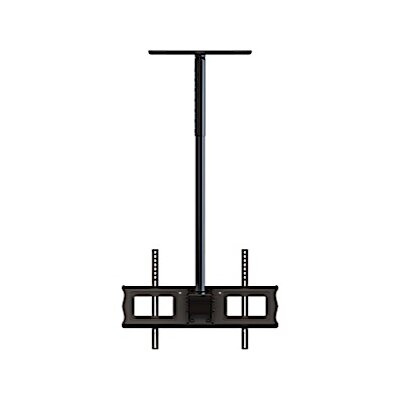 Single Ceiling Mount Universal Wall for 37-63 LCD and Plasma TVs