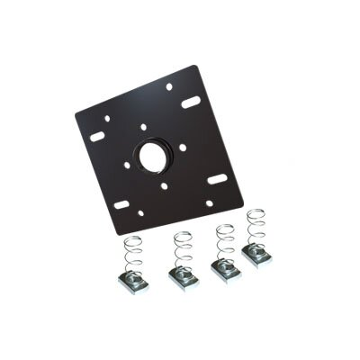 Dual Unistrut Ceiling Adapter with Hardware Compatible with All Standard 1.5 Thread