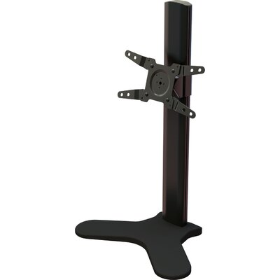 Single Desktop Tilt Floor Stand Mount for 13 - 34 Screens