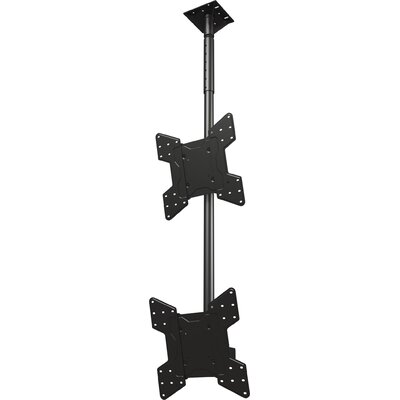 Dual Screen Tilt Ceiling Mount for 32 - 55 Screens