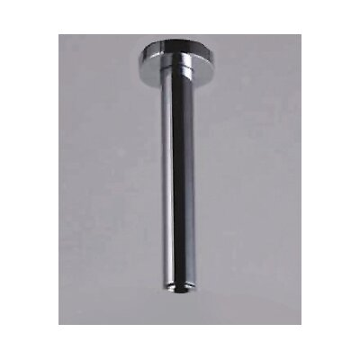 Round Ceiling Arm Finish: Polished Chrome