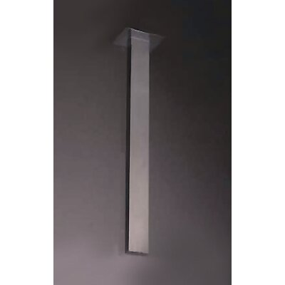 Ceiling Shower Arm Finish: Brushed Nickel/Stainless Steel