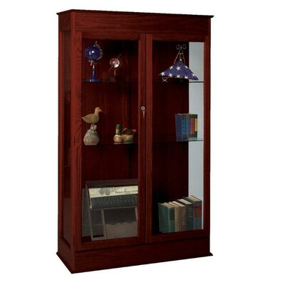 Best-Rite Traditional Wood Display Case - Finish: Cherry on Oak at Sears.com