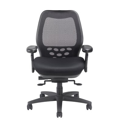 Mid-Back SXO Office Chair Seat Color: Mystic Black, Headrest: Not Included Product Picture 91