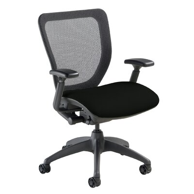 Mid-Back WXO Office Chair Seat Color: Mystic Black Product Picture 91