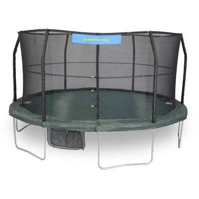 14' Trampoline with Enclosure and 84 Springs JK1466C2