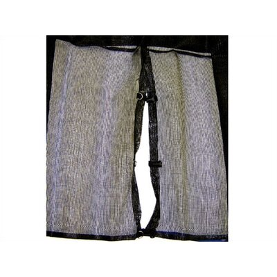JumpKing 15' Enclosure Netting (for 4 Pole or 5 Pole Trampolines) - Type: used with 4 straight poles at Sears.com