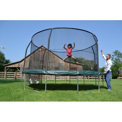 JumpKing JumpPOD Trampoline With Enclosure - Size: 14 Foot at Sears.com