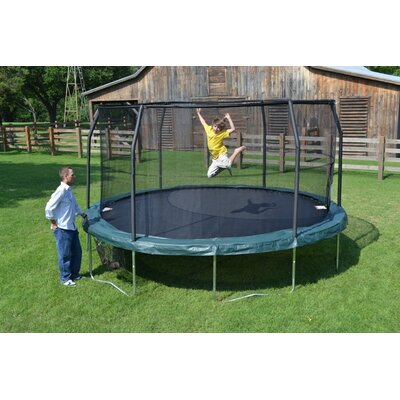 JumpKing JumpPOD Trampoline With Enclosure - Size: 15 Foot at Sears.com