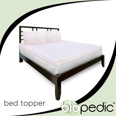 Florentine Elegance Mattress Topper Size: California King