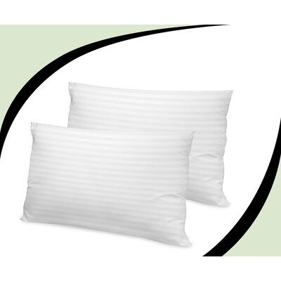 Tencel Bed Down Alternative Pillow Size: King