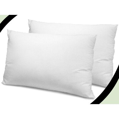 Coolmax Polyfill Pillow Size: 36 H x 20 W