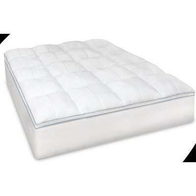 Supreme Memory Plus 3.5 Down Alternative Mattress Topper Size: Twin