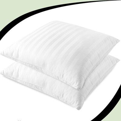 Luxury Sateen Stripe Fiber European Pillow
