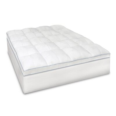 Supreme 3.5 Memory Foam Mattress Topper Size: Queen