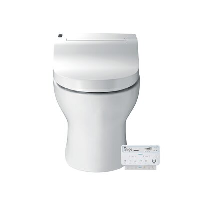 Luxury Integrated Toilet Seat 40 Floor Mount Bidet