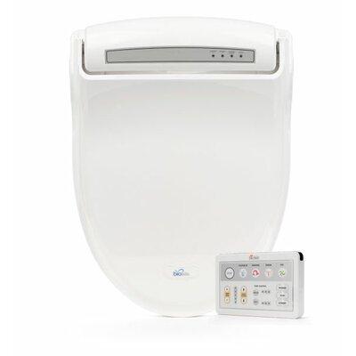 Supreme Advanced Elongated Toilet Seat Bidet Finish: White