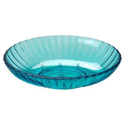 Acrylic Ribbed Soap Dish Soap Dish Color: Cerulean Blue BA-ARC/SD/80