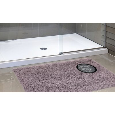 Harris Bath Rug Color: Purple