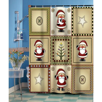Americana Holiday Shower Curtain