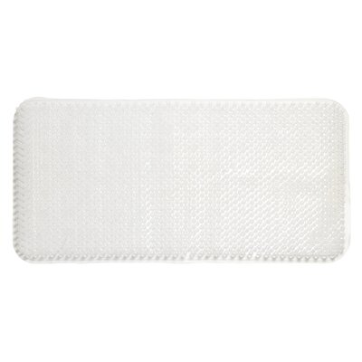Jerry Vinyl Bath Tub Mat Color: Clear