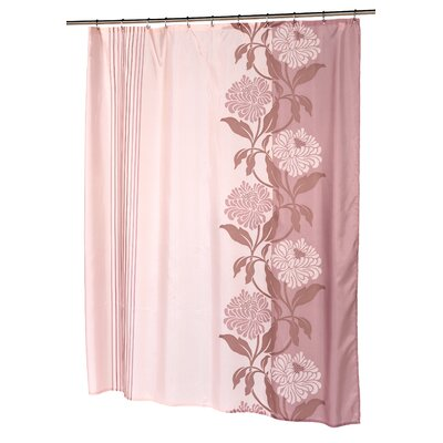 Chelsea Shower Curtain Color: Brown and Ivory