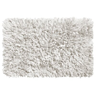 Garlen Cotton/Polyester Bath Mat Color: White