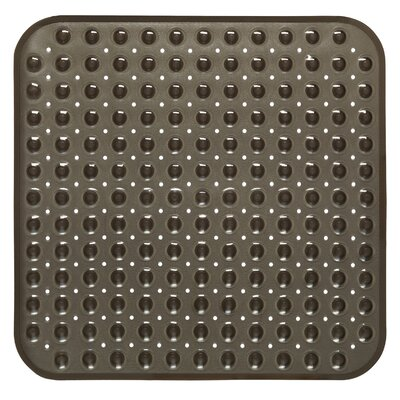 Claribel Vinyl Bath Mat Color: Black