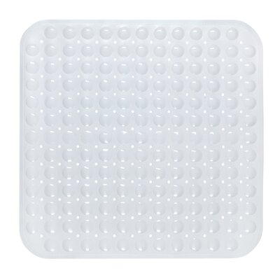 Claribel Vinyl Bath Mat Color: White