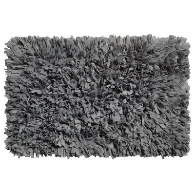 Ferrer Cotton/Polyester Bath Mat Color: Pewter