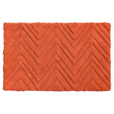 Eldridge Chevron Weave 100% Cotton Bath Mat