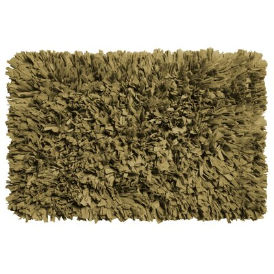 Garlen Cotton/Polyester Bath Mat Color: Sage