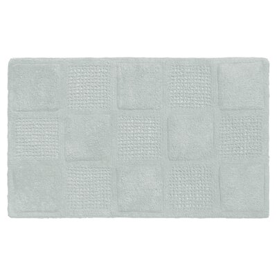 Acker 100% Cotton Bath Mat Color: Spa Blue