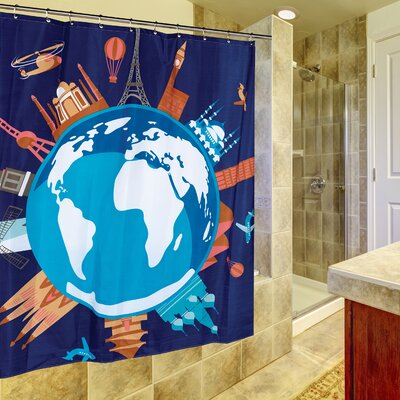 Our World Shower Curtain