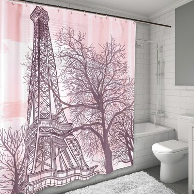 Tour Eiffel Shower Curtain