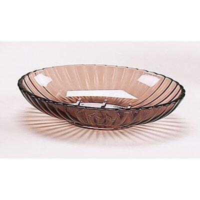 Acrylic Ribbed Soap Dish Soap Dish Color: Brown BA-ABR/SD