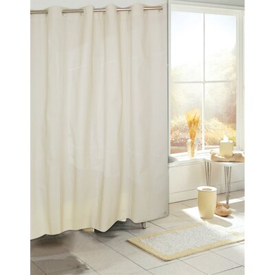 Ez On PEVA Shower Curtain Color: Ivory