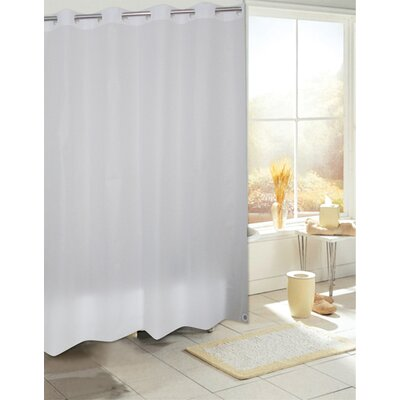 Ez On PEVA Shower Curtain Color: Frosty Clear