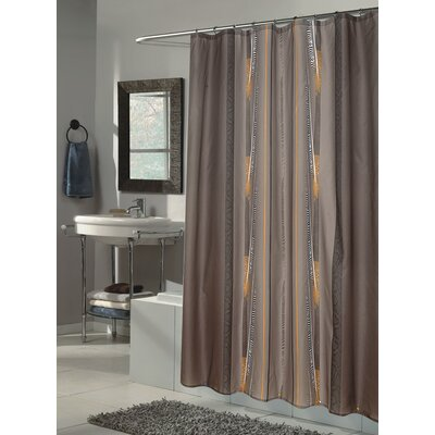 Extra Long Polyester Shower Curtain | Wayfair