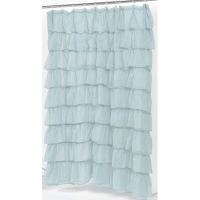 Buy Low Price Carnation Home Fashions Carmen Crushed Voile Ruffled ...