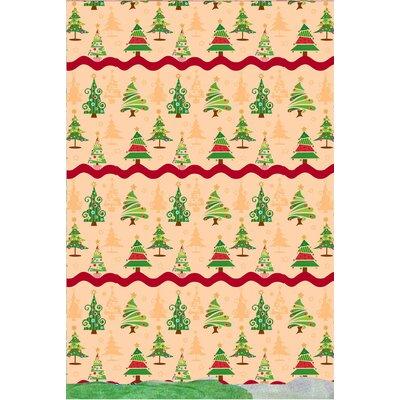 O Christmas Tree Holiday Print Shower Curtain Set